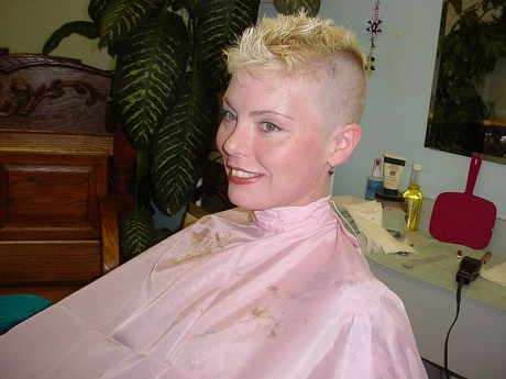 FUN HAIR CUT & more - PHOTOS - Capes, clippers and haircutting - happy ...