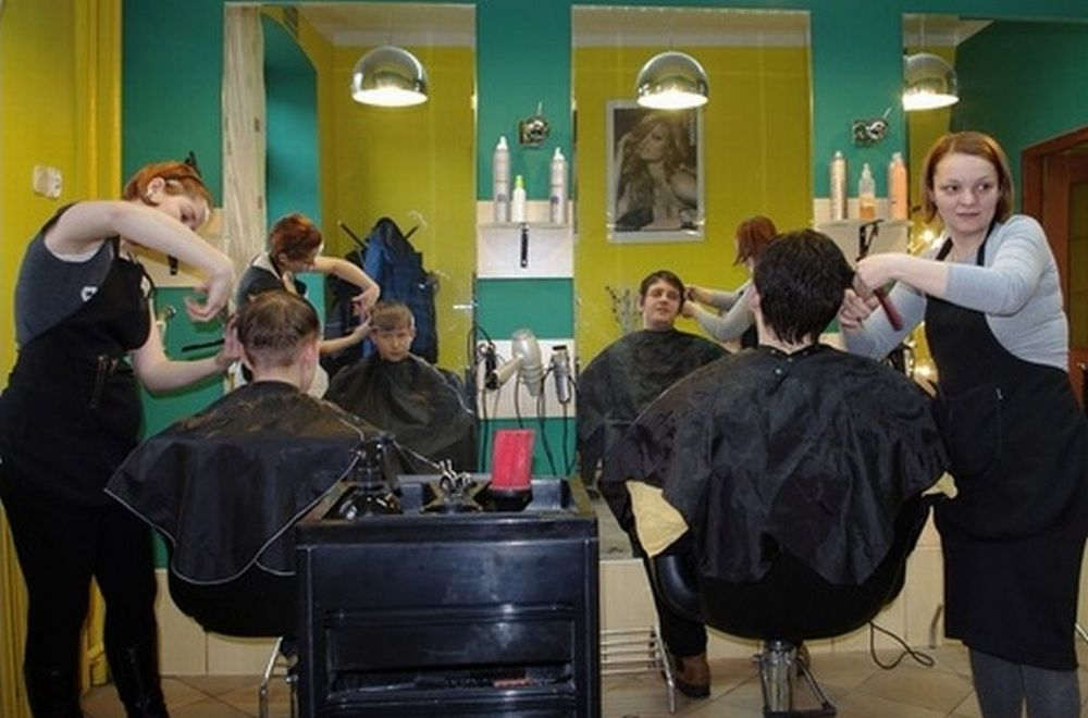 barberette salon haircut