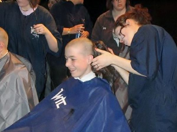 shave for charity